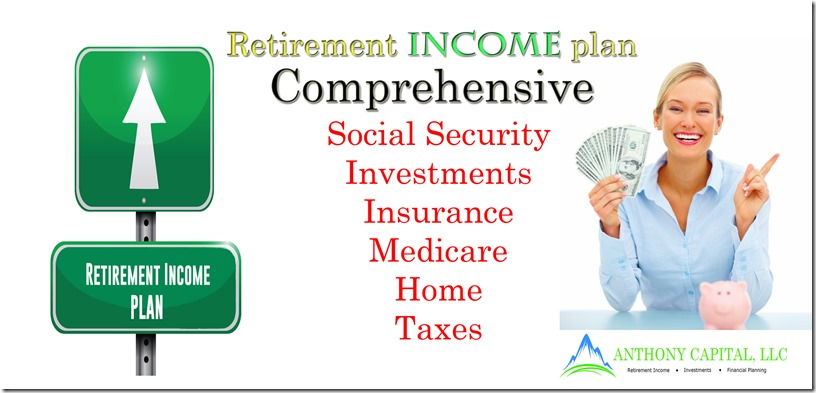 Comprehensive retirement income plan