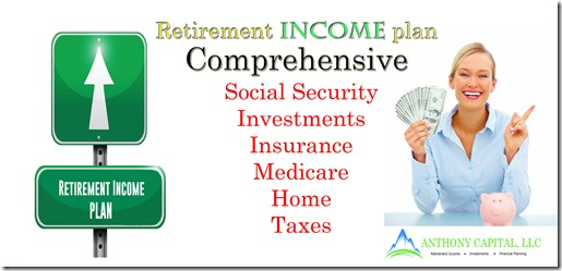 Comprehensive retirement income plan